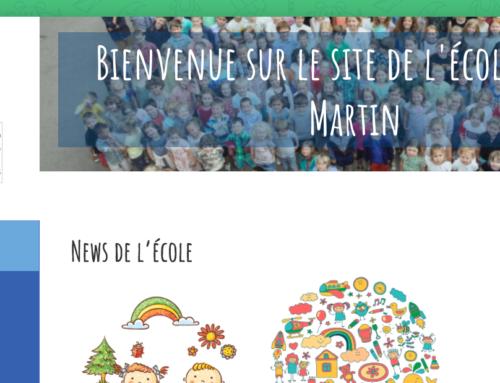 Site internet école Saint-Martin de Mignault
