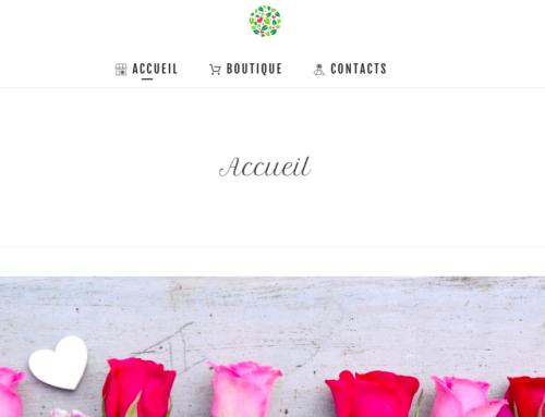 Création boutique en ligne – fleuriste